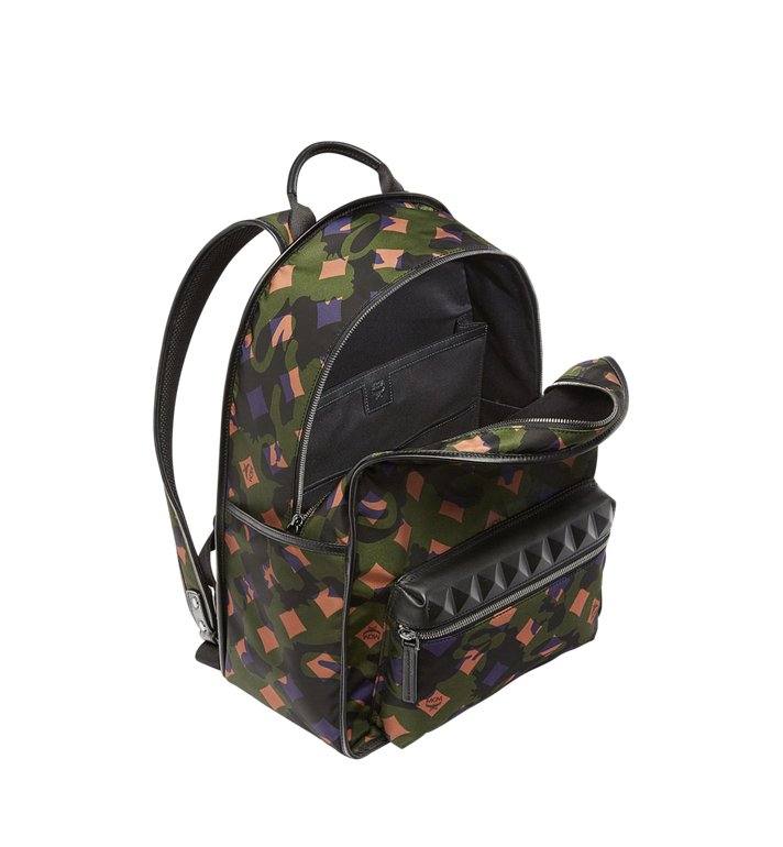 MCM Dieter Rucksack in Munich Lion Camo Nylon Alternate View 5