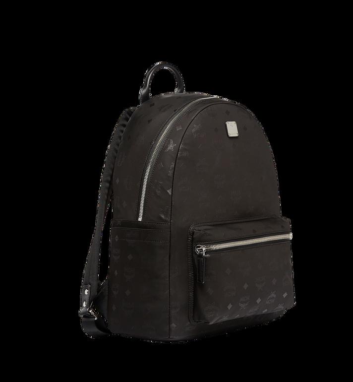 MCM Stark Classic Backpack in Monogram Nylon Black MUK7ADT10BK001 Alternate View 2