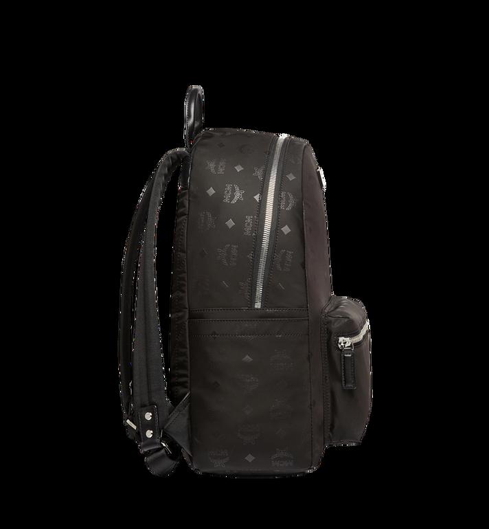 MCM Stark Classic Backpack in Monogram Nylon Black MUK7ADT10BK001 Alternate View 3