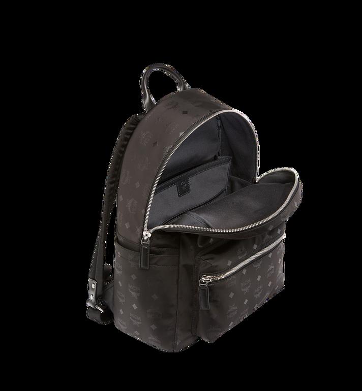 MCM Stark Classic Backpack in Monogram Nylon Black MUK7ADT10BK001 Alternate View 5