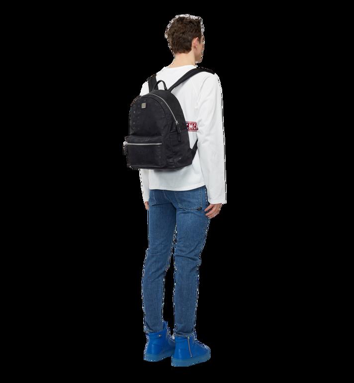 MCM Stark Classic Backpack in Monogram Nylon Black MUK7ADT10BK001 Alternate View 6