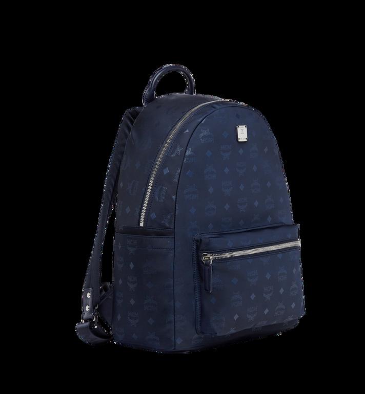 MCM Stark Classic Backpack in Monogram Nylon Navy MUK7ADT10VA001 Alternate View 2