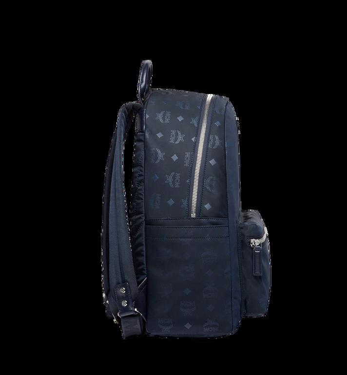 MCM Stark Classic Backpack in Monogram Nylon Navy MUK7ADT10VA001 Alternate View 3
