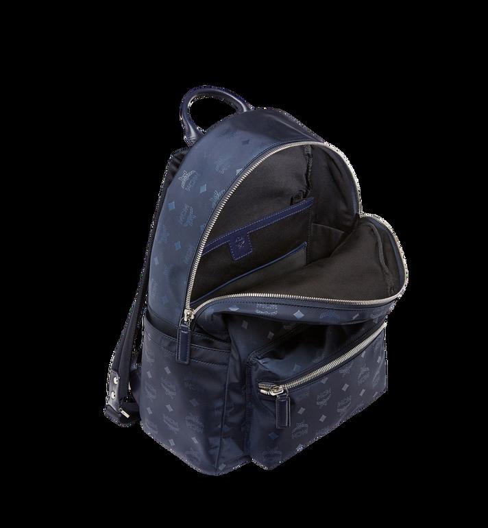 MCM Stark Classic Backpack in Monogram Nylon Navy MUK7ADT10VA001 Alternate View 5
