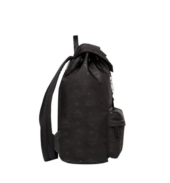 MCM Kreuzberg Rucksack in Monogram Nylon Black MUK7ADT17BK001 Alternate View 3