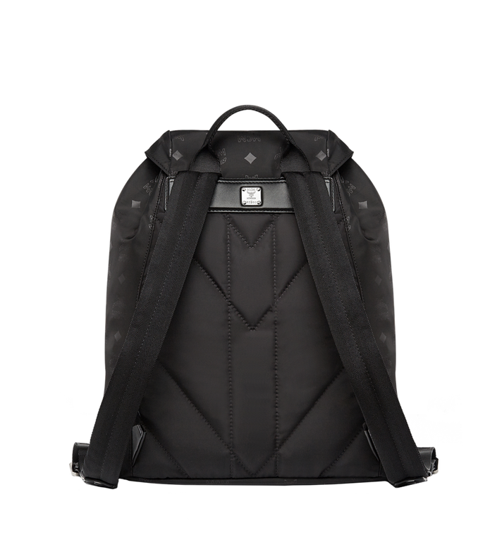 MCM Kreuzberg Rucksack in Monogram Nylon Black MUK7ADT17BK001 Alternate View 4