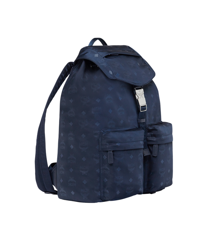 MCM Kreuzberg Rucksack in Monogram Nylon Navy MUK7ADT19VA001 Alternate View 2