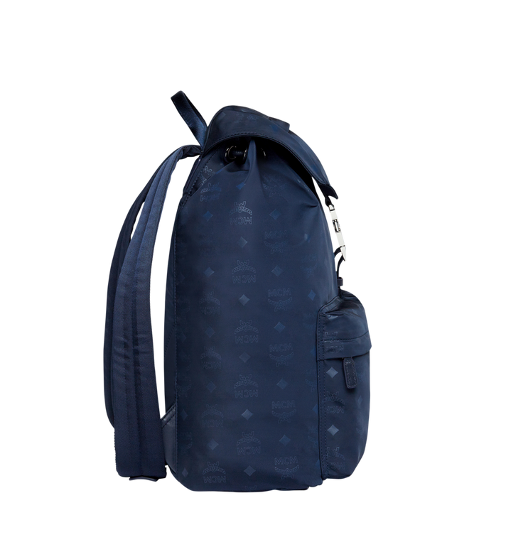 MCM Kreuzberg Rucksack in Monogram Nylon Navy MUK7ADT19VA001 Alternate View 3