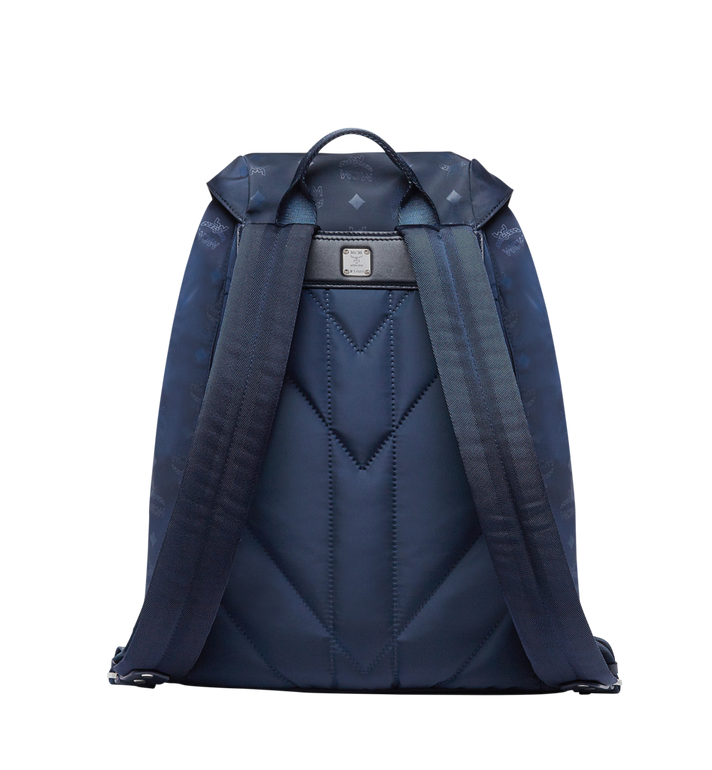 MCM Kreuzberg Rucksack in Monogram Nylon Navy MUK7ADT19VA001 Alternate View 4