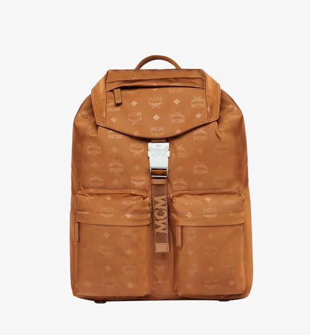 Dieter Two Pocket Rucksack aus Nylon mit Monogramm