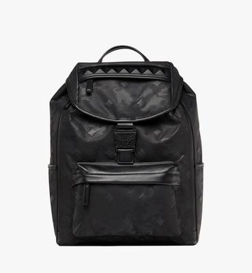 Killian Backpack in Textured Camo Nylon