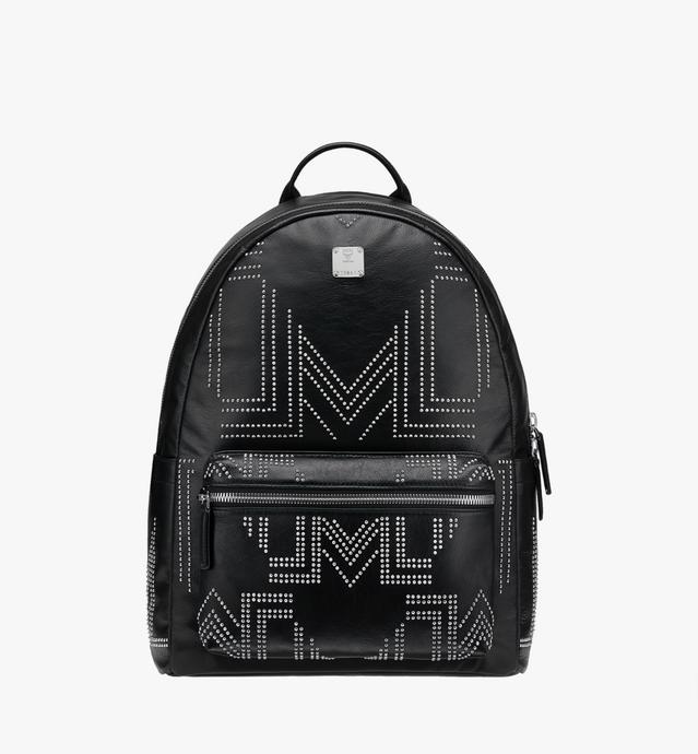 Tumbler Backpack in Gunta M Studs Lambskin