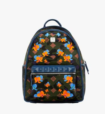 Dieter Backpack in Floral Camo Nylon