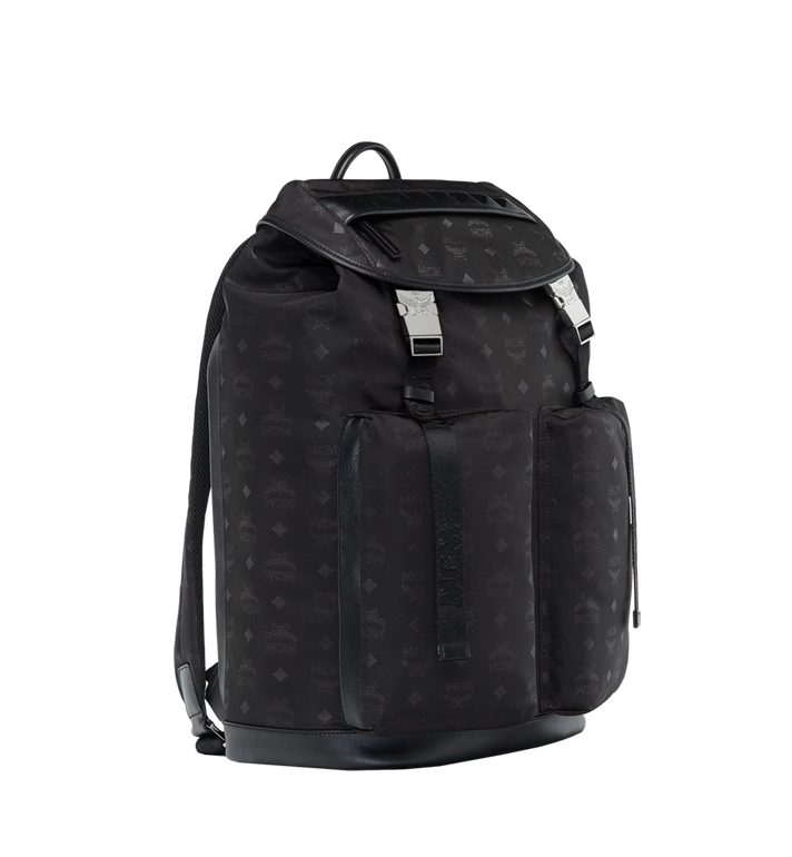 MCM Kreuzberg Backpack in Monogram Nylon Alternate View 2