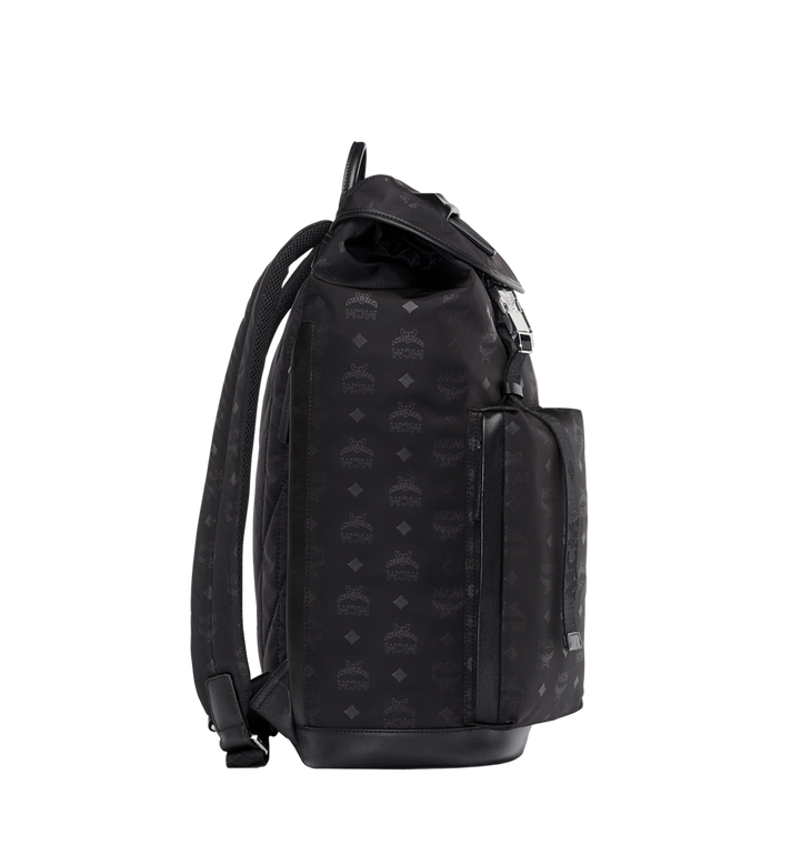 MCM Kreuzberg Backpack in Monogram Nylon Alternate View 3