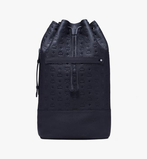 Trivitat Drawstring Backpack in Monogram Leather