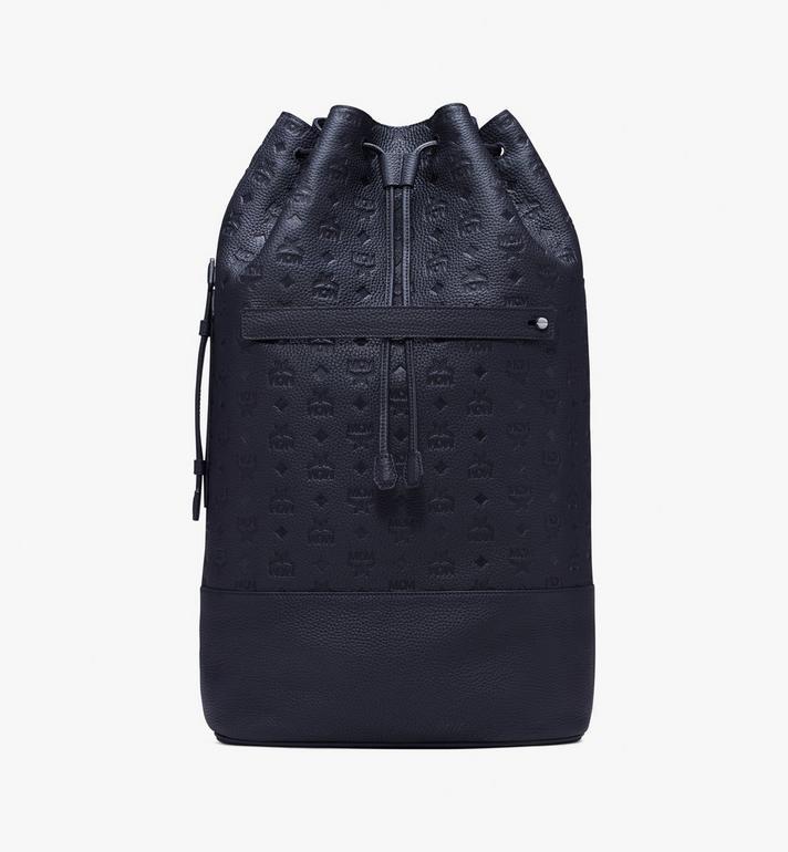 MCM Trivitat Drawstring Backpack in Monogram Leather Alternate View