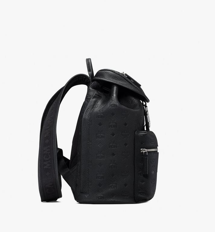 MCM Tivitat 皮革雙口袋雙肩後背包 Black MUK9ABT03BK001 Alternate View 2