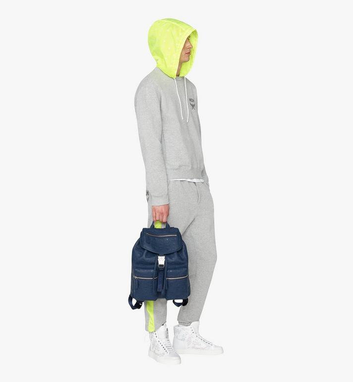 MCM Sac à dos à deux poches en cuir Tivitat  MUK9ABT03VA001 Alternate View 5