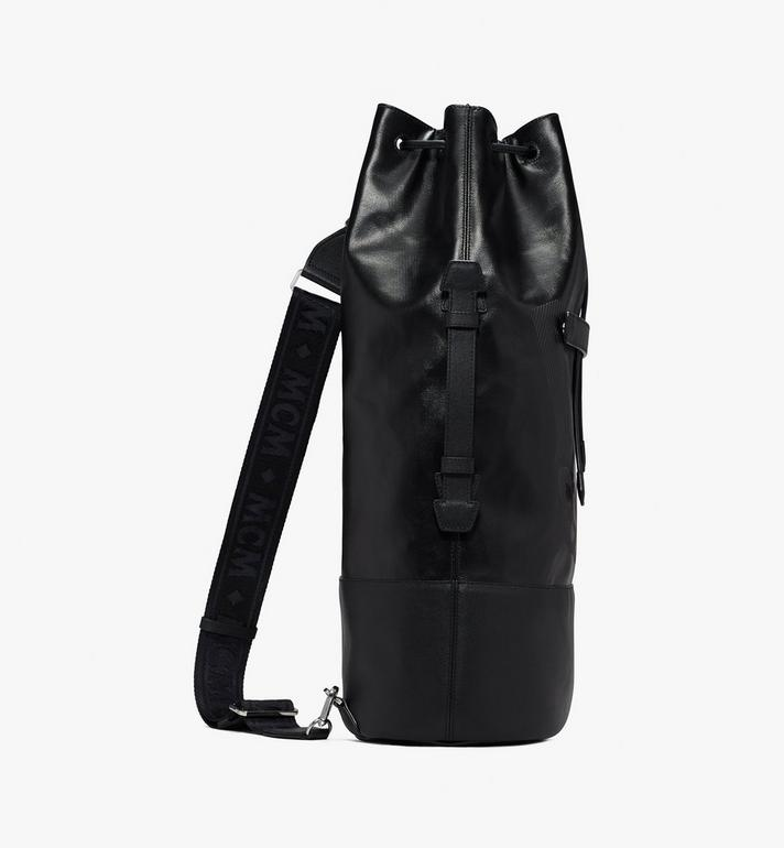 MCM Tivitat Drawstring Backpack Black MUK9ABT11BK001 Alternate View 2