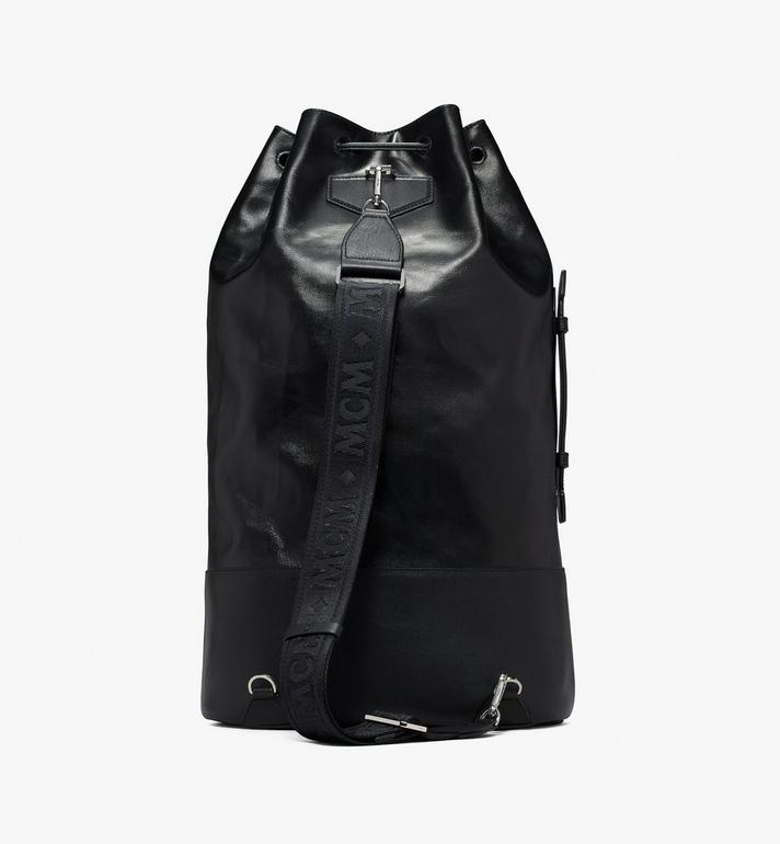 MCM Tivitat Drawstring Backpack Black MUK9ABT11BK001 Alternate View 3