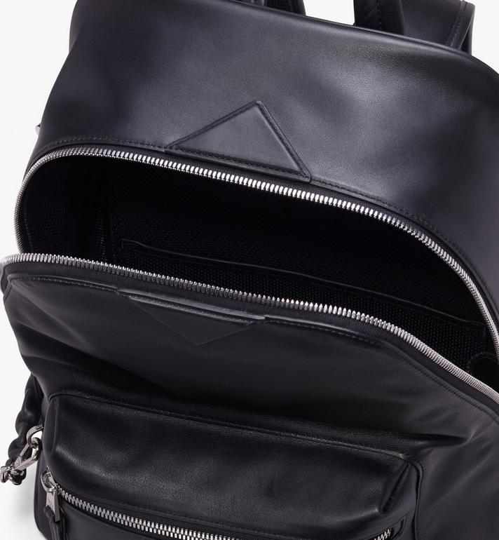 MCM Neo Duke Backpack in Leather Black MUK9ADK02BK001 Alternate View 4