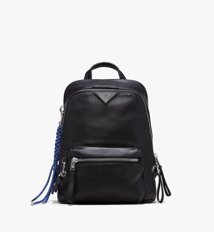 MCM Neo Duke Backpack in Leather Black MUK9ADK03BK001 Alternate View 1
