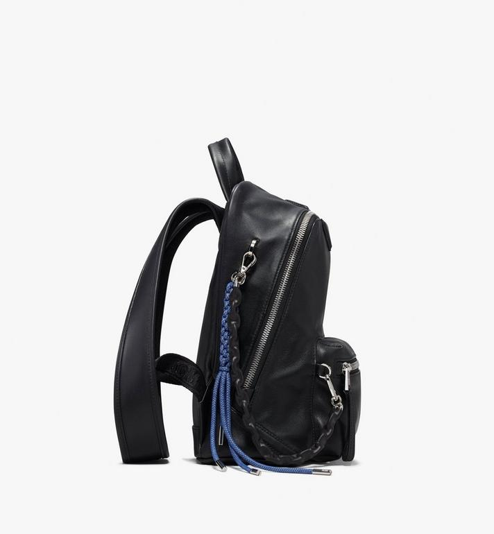 MCM Neo Duke Backpack in Leather Black MUK9ADK03BK001 Alternate View 2