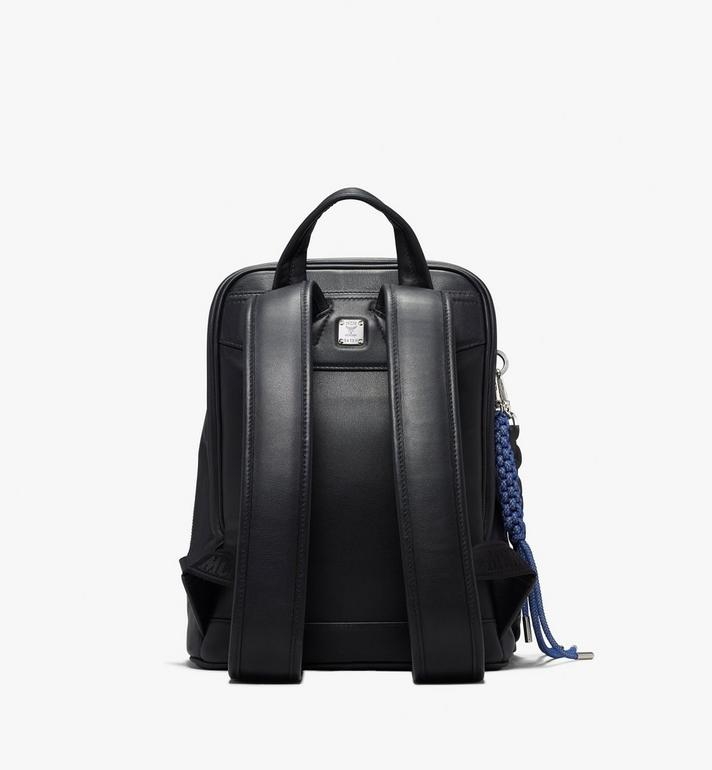 MCM Neo Duke Backpack in Leather Black MUK9ADK03BK001 Alternate View 3