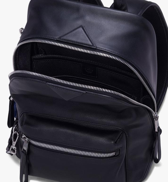 MCM Neo Duke Backpack in Leather Black MUK9ADK03BK001 Alternate View 4
