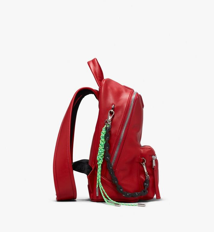 MCM Neo Duke Backpack in Leather Red MUK9ADK03RU001 Alternate View 2