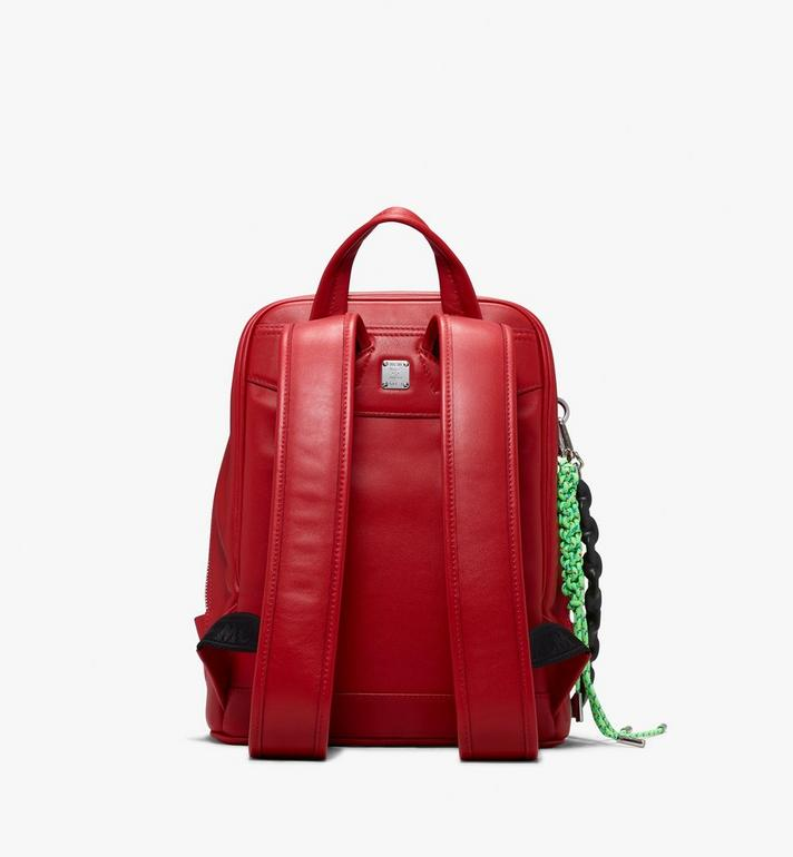 MCM Neo Duke Backpack in Leather Red MUK9ADK03RU001 Alternate View 3