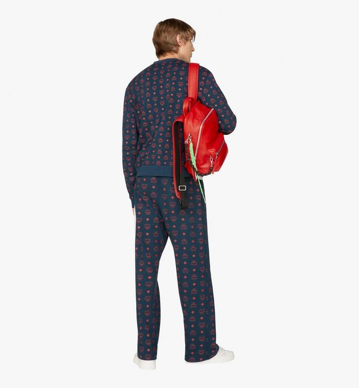 MCM Neo Duke Backpack in Leather Red MUK9ADK03RU001 Alternate View 5
