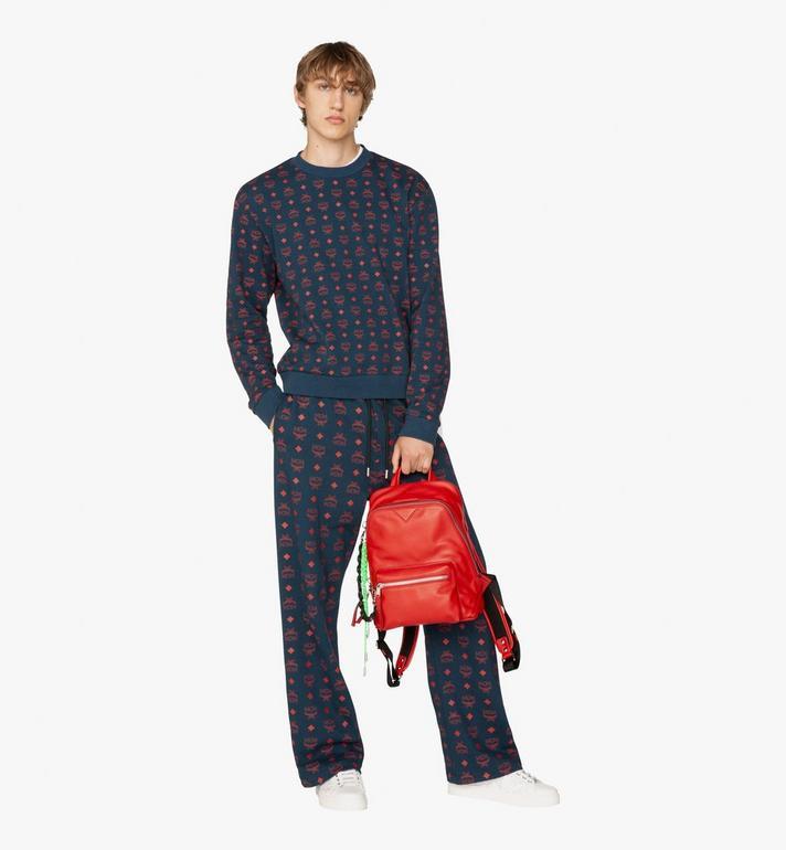 MCM Neo Duke Backpack in Leather Red MUK9ADK03RU001 Alternate View 6