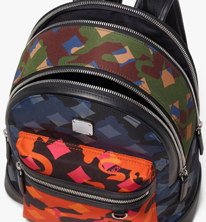 MCM Dieter Backpack in Munich Lion Camo Alternate View 4