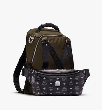 MCM Jemison 2-in-1-Nylonrucksack mit Logo Alternate View 4