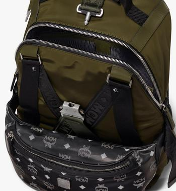 MCM Jemison 2-in-1-Nylonrucksack mit Logo Alternate View 5