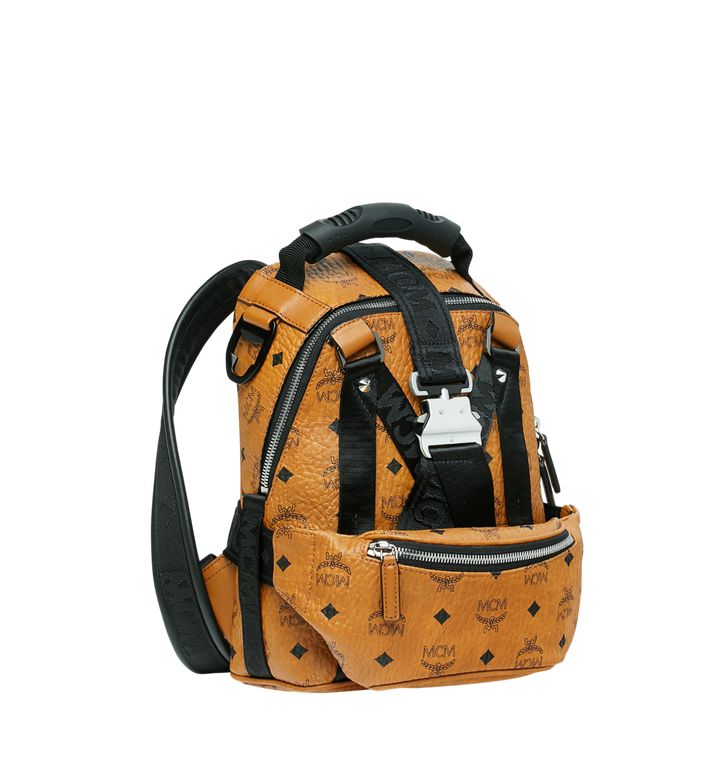 MCM Jemison 2-in-1 Rucksack in Visetos Alternate View 2