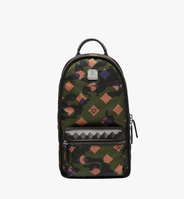 Travel Sling Backpack in Camo Nylon
