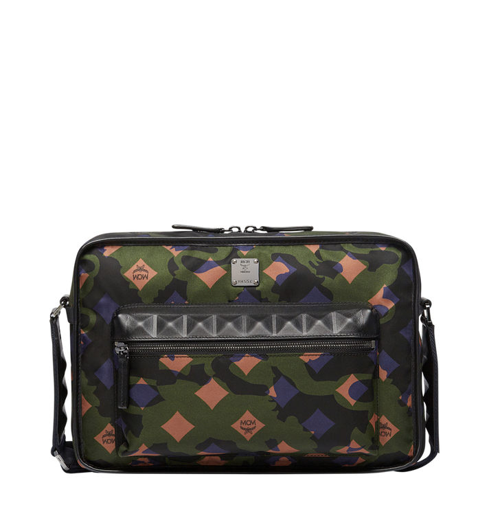 MCM Sacoche Dieter en nylon Camo Lion Alternate View 1