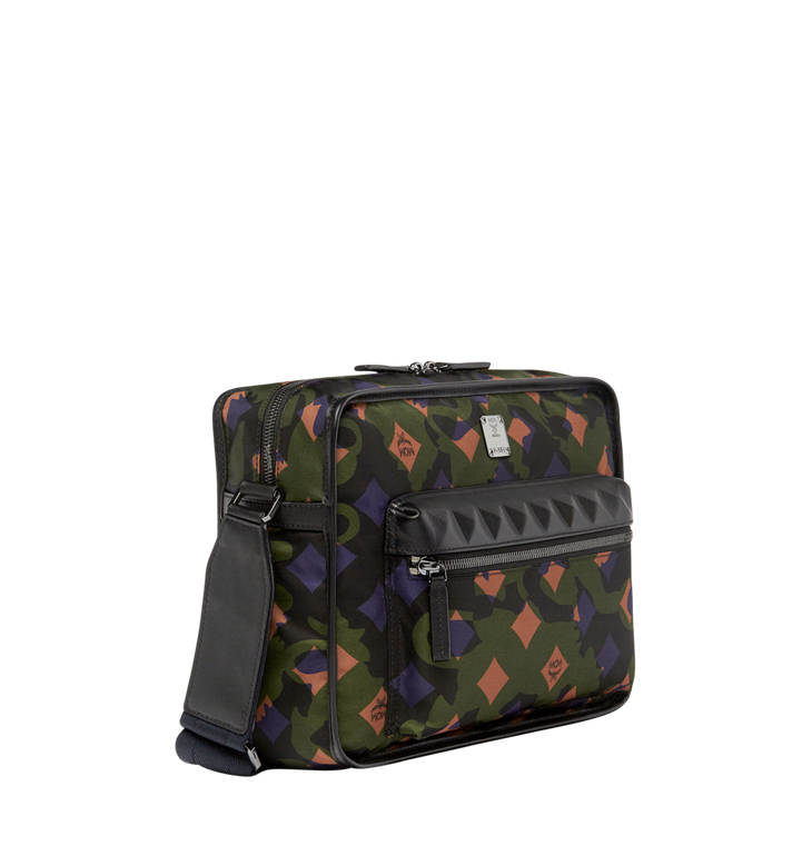 MCM Sacoche Dieter en nylon Camo Lion Alternate View 2