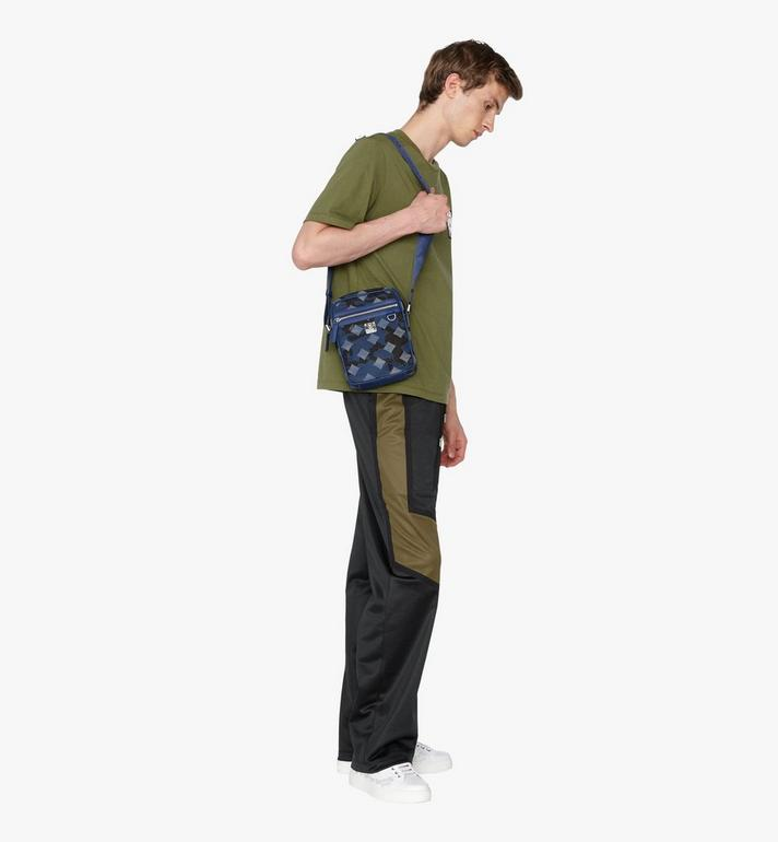 MCM Dieter Crossbody in Munich Lion Camo Blue MUR9ADT30VE001 Alternate View 5