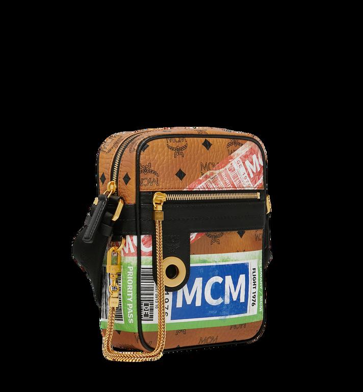 MCM Crossbody-Tasche für die Reise in Flight Print Visetos Alternate View 2