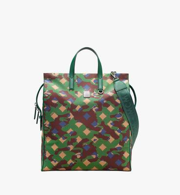 Dieter Tote Bag in Munich Lion Camo