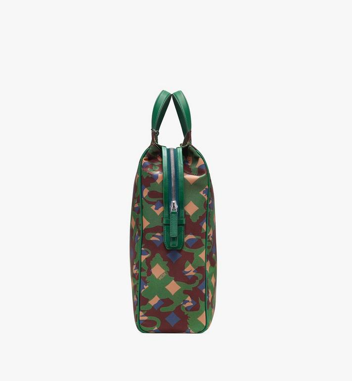 MCM Dieter Tote Bag in Munich Lion Camo Alternate View 2