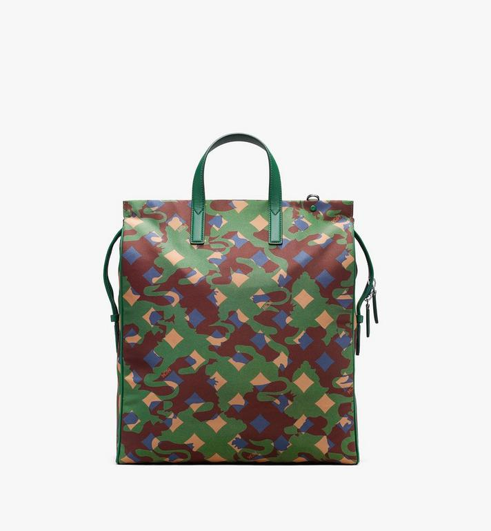 MCM Dieter Tote Bag in Munich Lion Camo Alternate View 3
