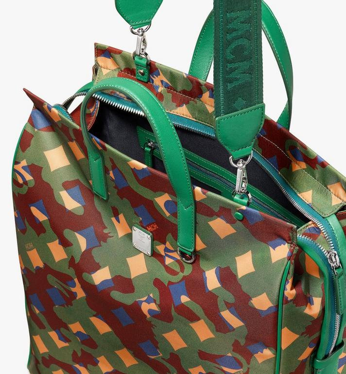 MCM Dieter Tote Bag in Munich Lion Camo Alternate View 4