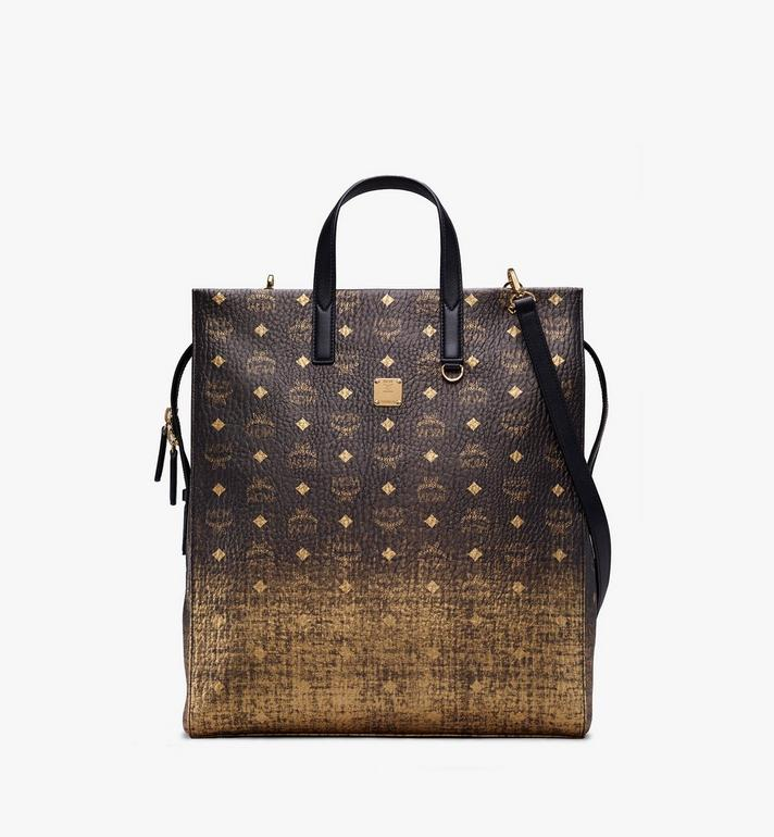 MCM Tote Bag in Gradation Visetos Alternate View
