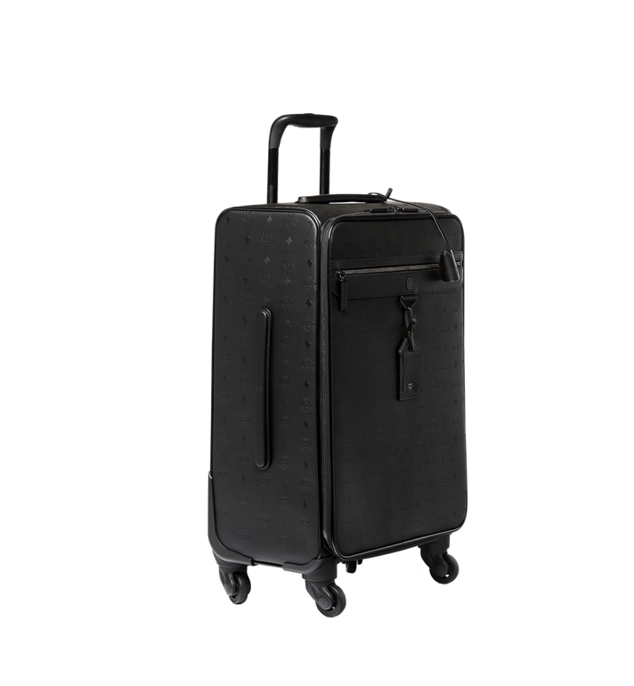 MCM Traveler Check-In Trolley in Odeon Black MUV6AHE27BK001 Alternate View 2
