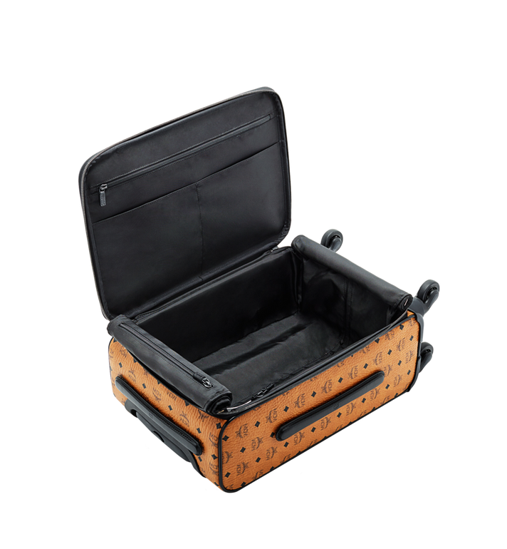 MCM Traveler Cabin Trolley in Visetos Alternate View 5